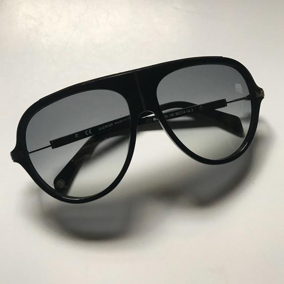 f0c854631 Balmain Accessories | Acetate Aviator Sunglasses | Poshmark